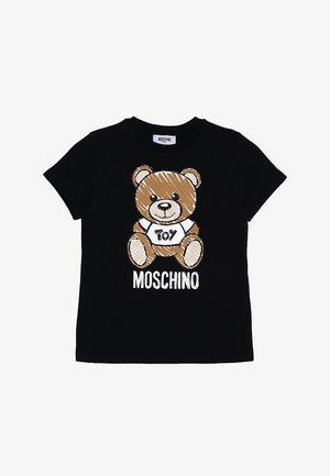 T-shirt imprimé - nero/black