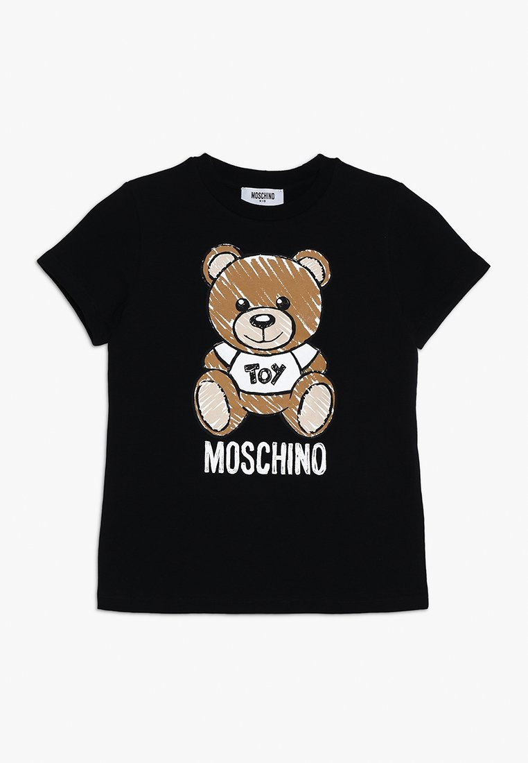 MOSCHINO - T-shirt imprimé - nero/black