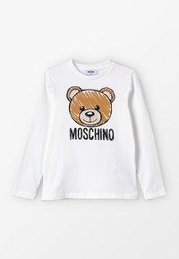 MOSCHINO - Top sdlouhým rukávem - cloud - 0
