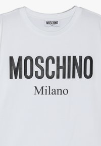 MOSCHINO - MAXI  - Camiseta estampada - white - 3