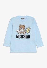MOSCHINO - Pitkähihainen paita - baby sky blue - 0