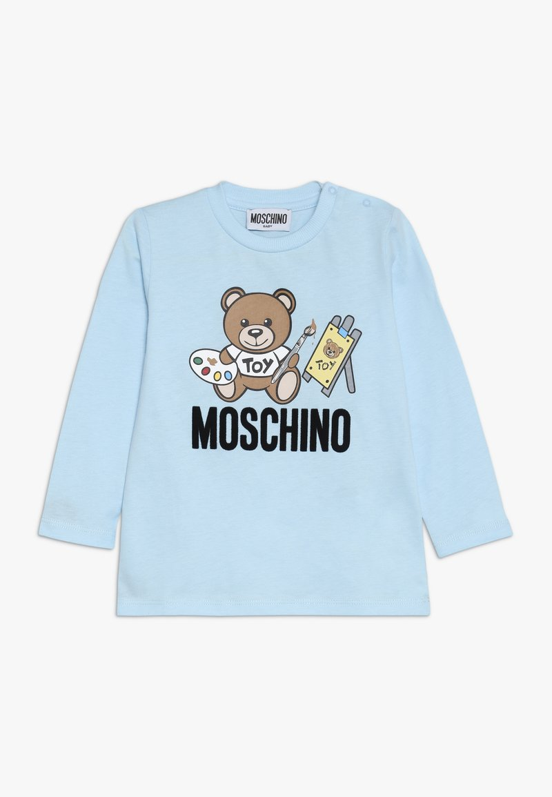 MOSCHINO - Long sleeved top - baby sky blue