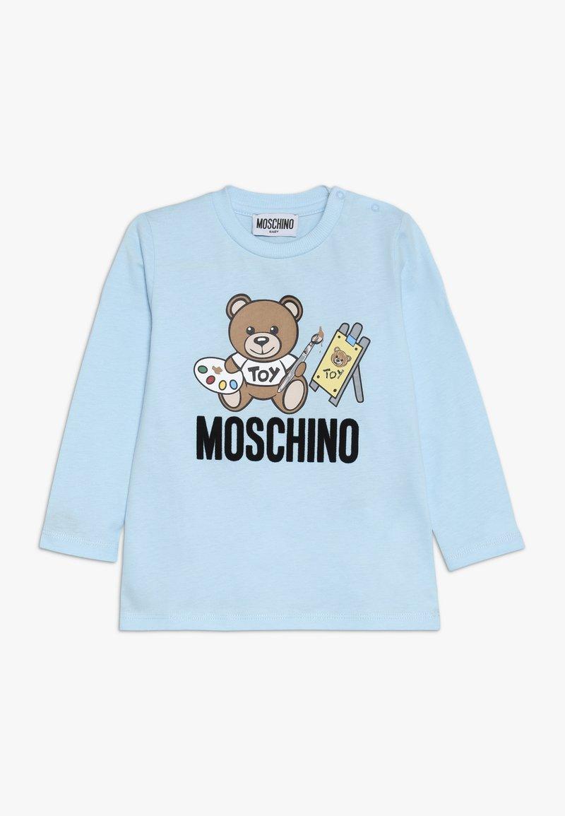 MOSCHINO - Pitkähihainen paita - baby sky blue