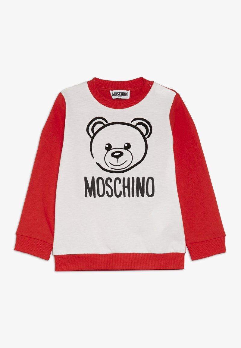 MOSCHINO - Camiseta de manga larga - poppy red