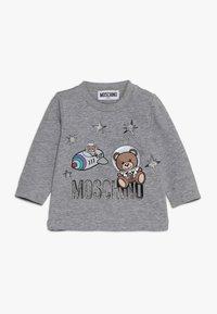 MOSCHINO - Pitkähihainen paita - grigio melange - 0