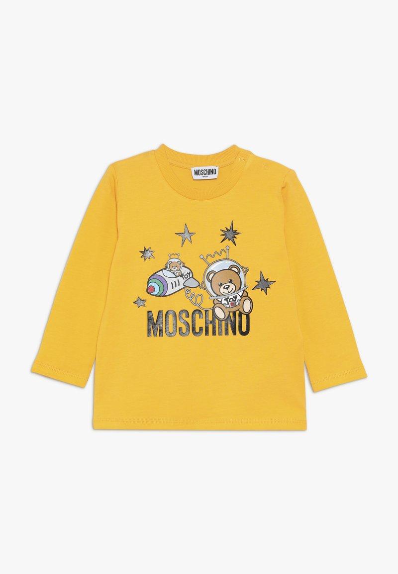 MOSCHINO - Topper langermet - dark yellow