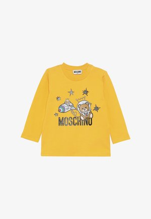 Langærmede T-shirts - dark yellow