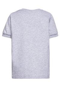 MOSCHINO - Print T-shirt - grigio chiaro melange - 1