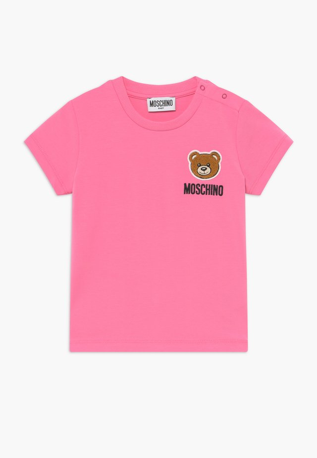 MAXI - T-Shirt print - dark pink