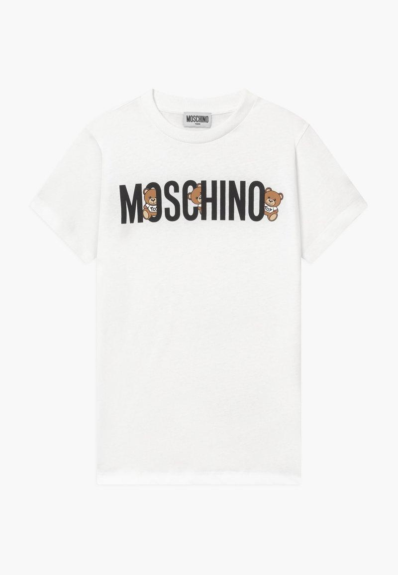 MOSCHINO - Print T-shirt - optical white