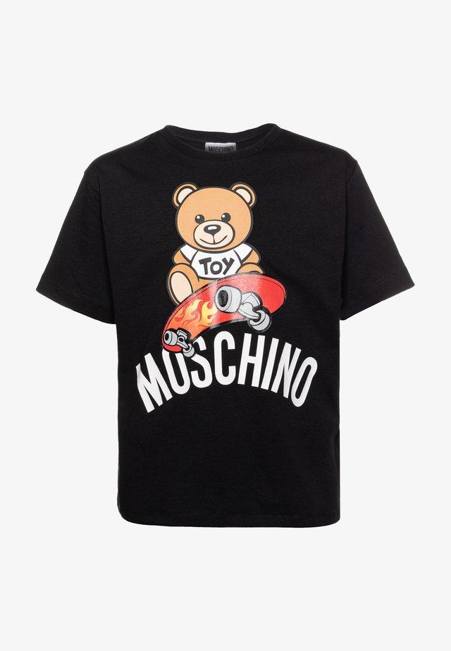 MAXI  - Camiseta estampada - black