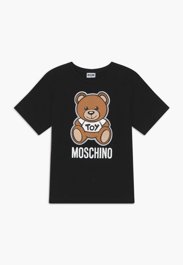 MAXI  - T-shirt con stampa - black