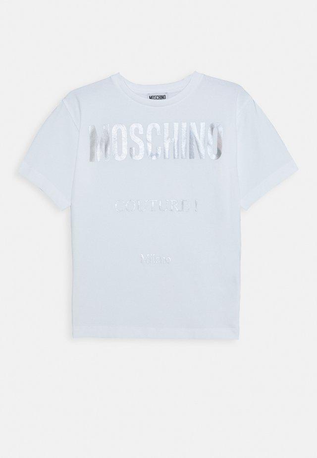MAXI OVERSIZE - T-shirt print - optic white