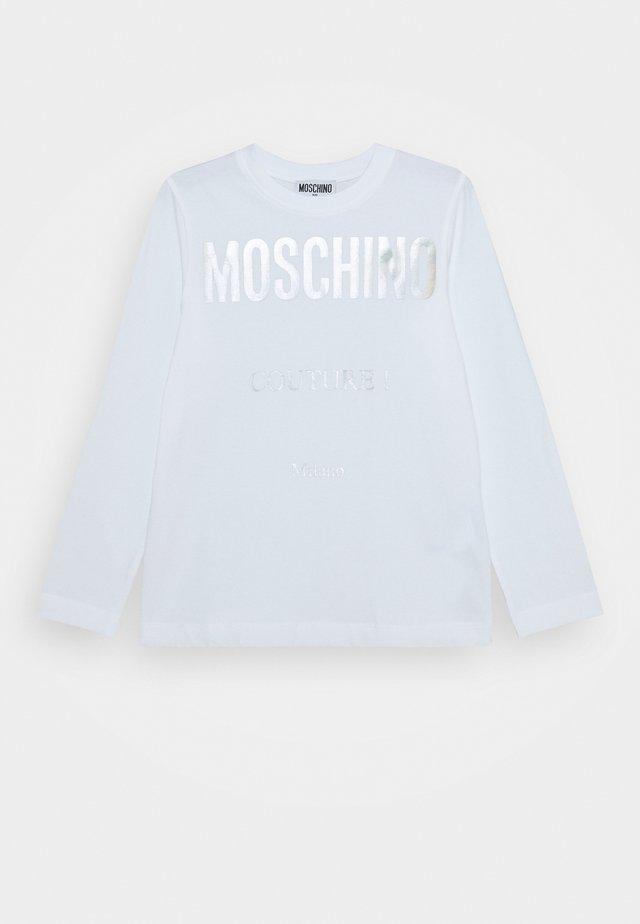 Langarmshirt - optic white