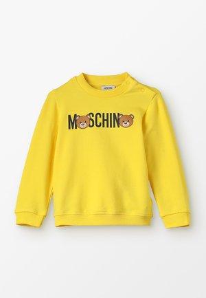 Sweatshirt - yellow sun