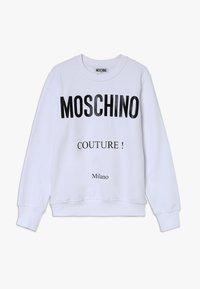 MOSCHINO - Sweatshirt - optic white - 0