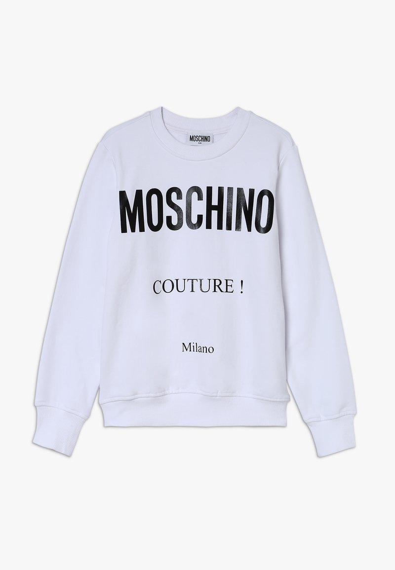MOSCHINO - Mikina - optic white