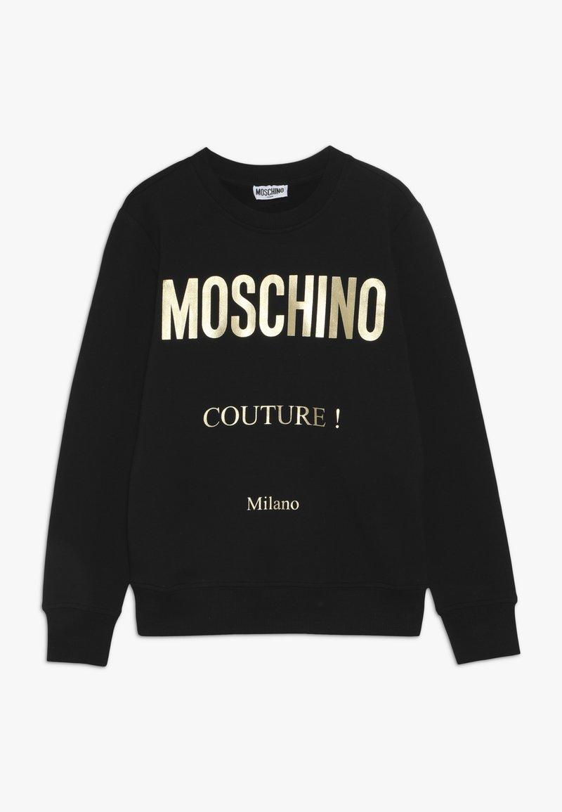MOSCHINO - Sweatshirt - black