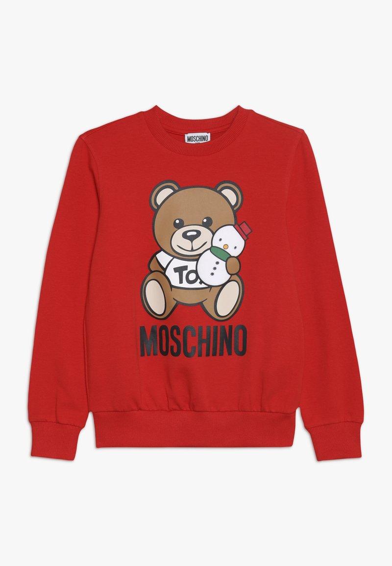 MOSCHINO - Sweatshirt - poppy red