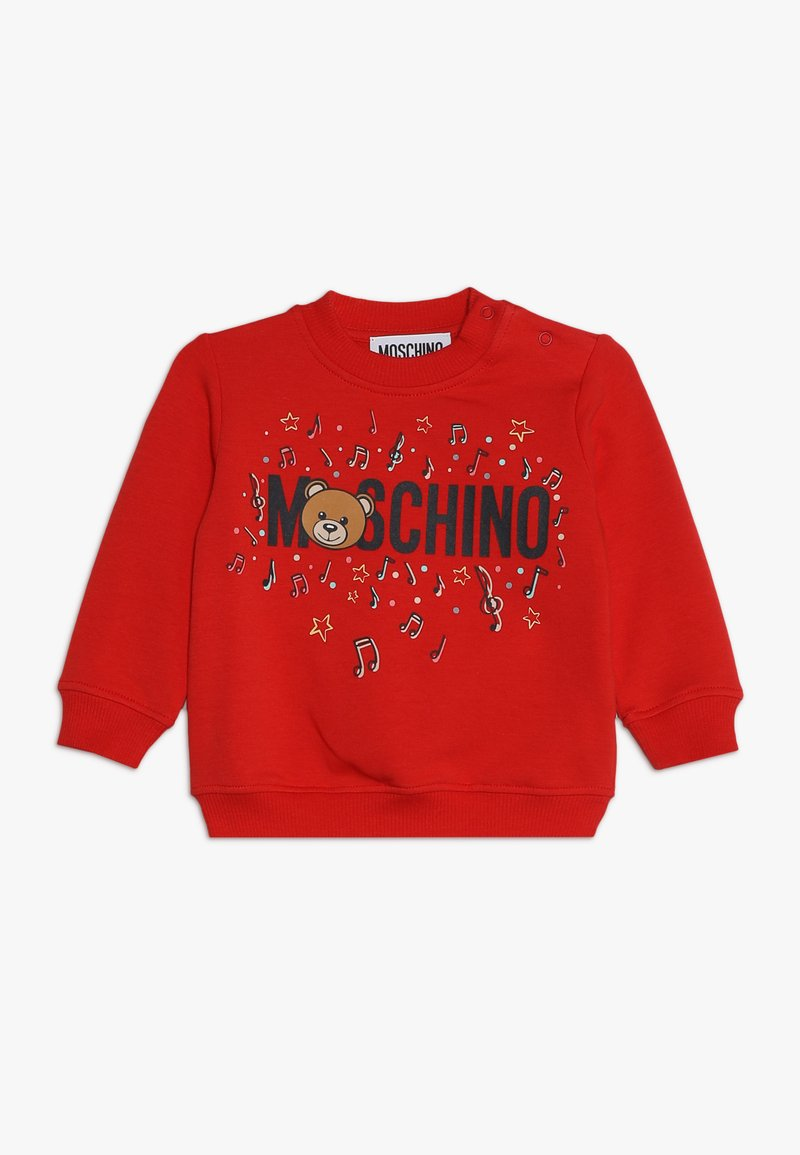 MOSCHINO - Felpa - poppy red