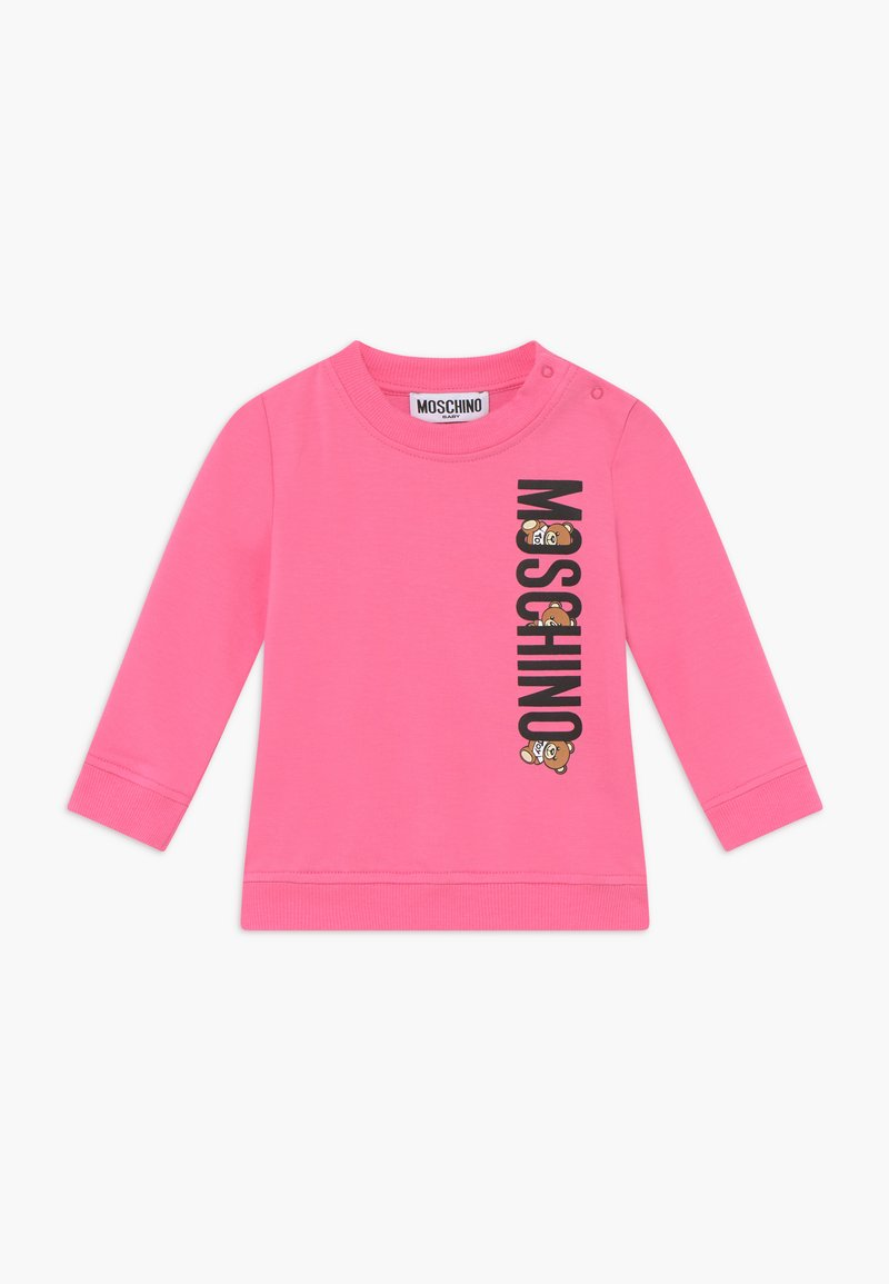 MOSCHINO - Sweater - dark pink