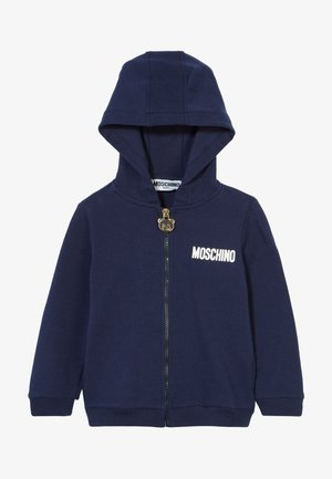 HOODED - Zip-up hoodie - navy blue