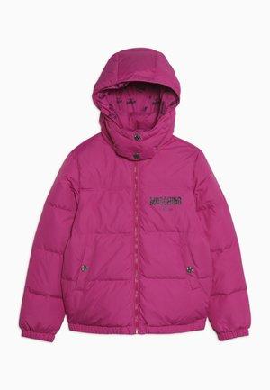 PADDED JACKET - Down jacket - fuxia