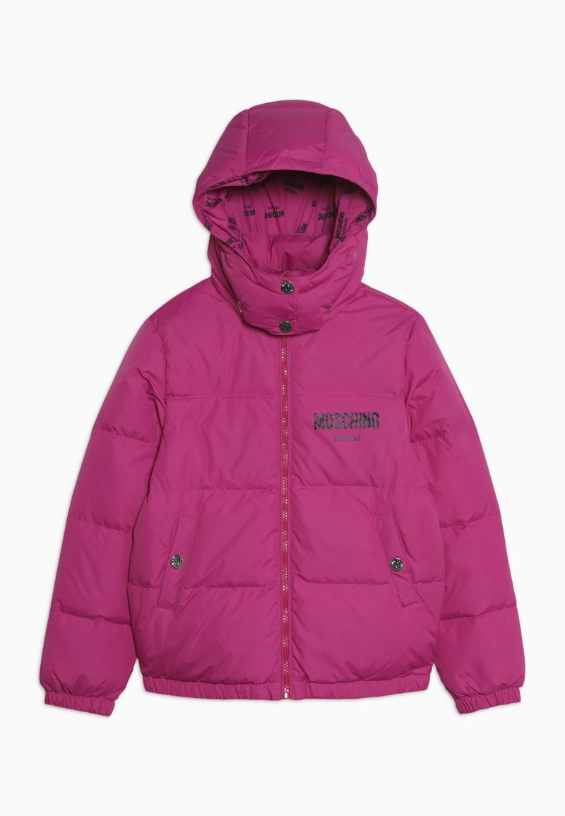 MOSCHINO - PADDED JACKET - Down jacket - fuxia