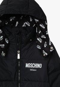 MOSCHINO - PADDED JACKET - Down jacket - black - 4