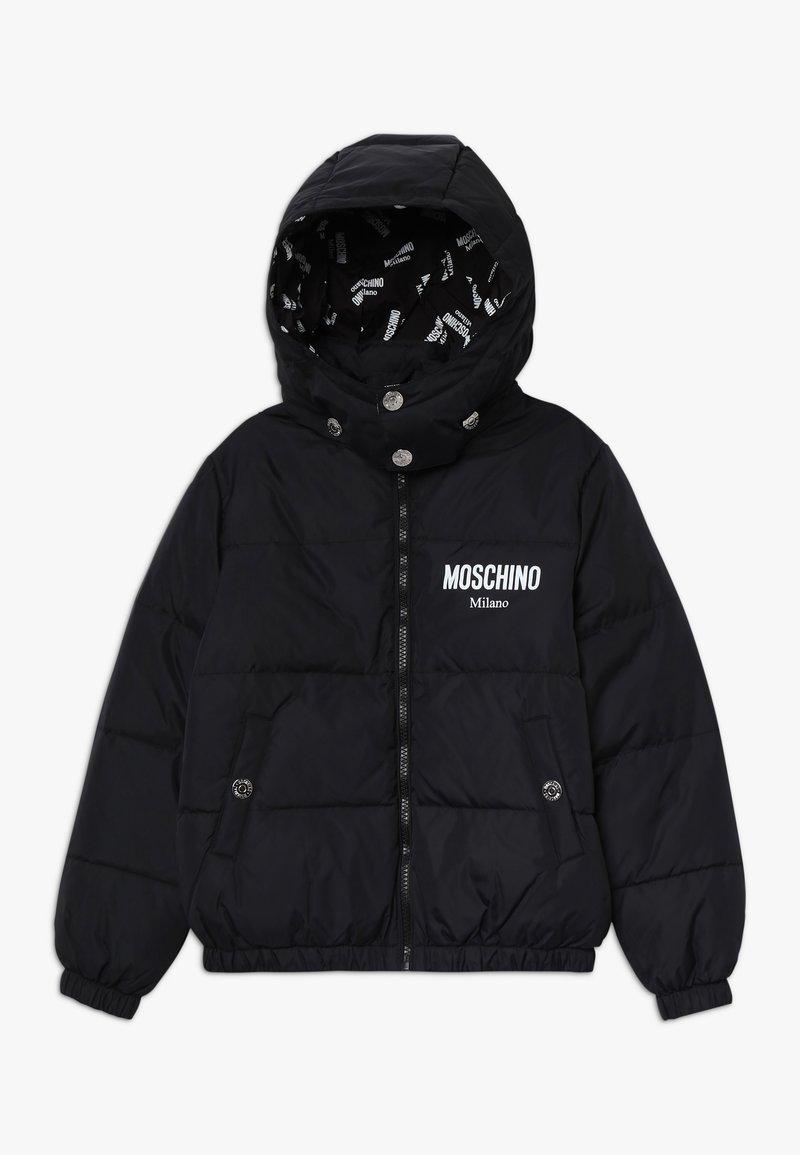 MOSCHINO - PADDED JACKET - Down jacket - black