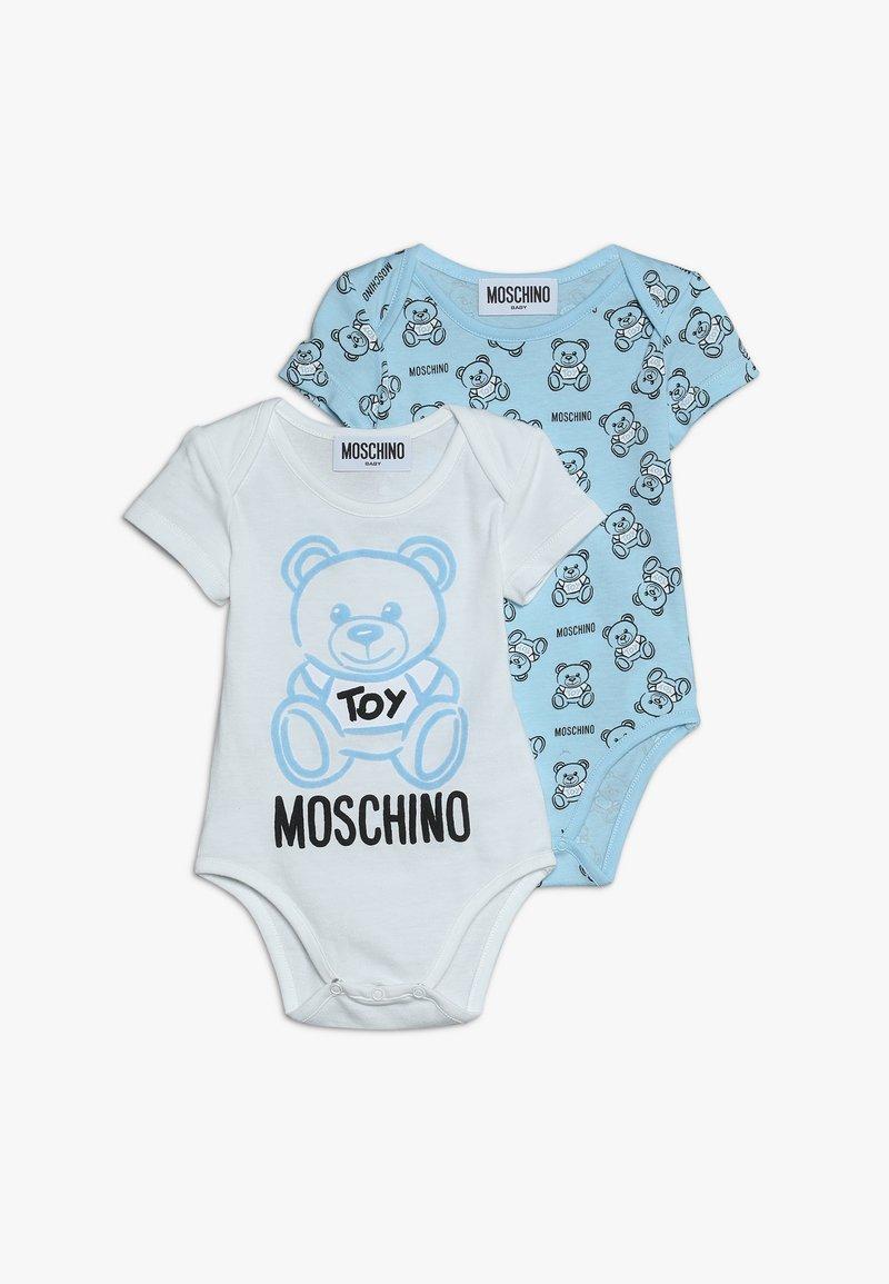 MOSCHINO - GIFT 2 PACK - Regalos para bebés - sky blue