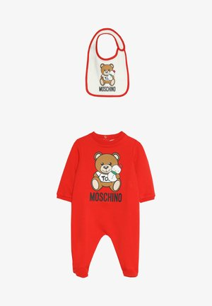 BABYGROW AND BIB GIFT SET - Combinaison - poppy red