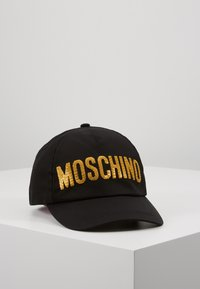 MOSCHINO - HAT - Kšiltovka - black - 0