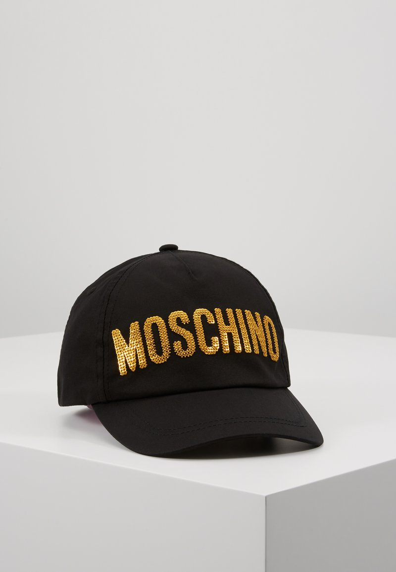 MOSCHINO - HAT - Kšiltovka - black