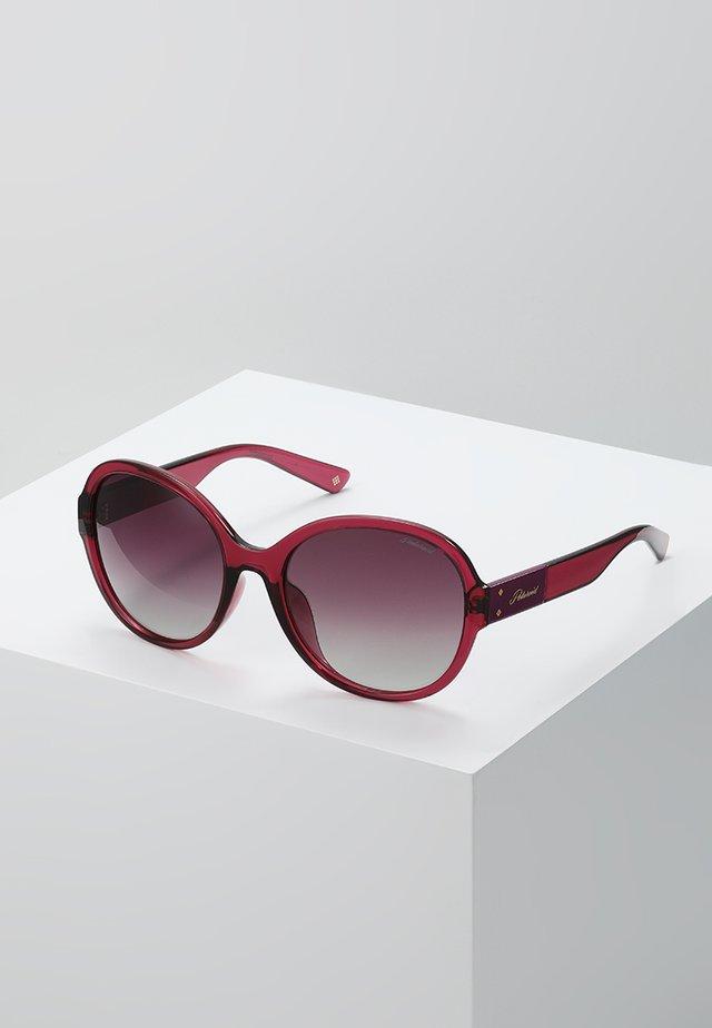 Occhiali da sole - burgundy
