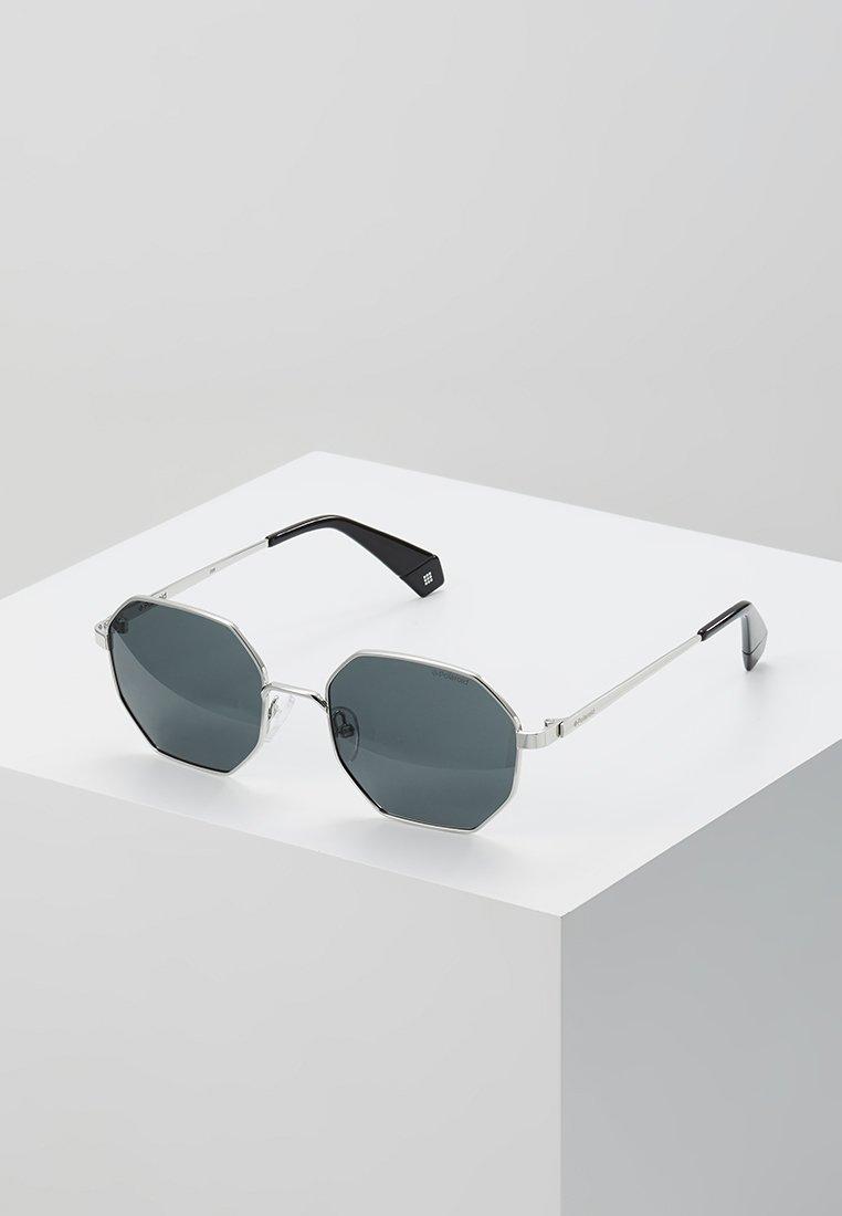 Polaroid - Sluneční brýle - silver-coloured/black