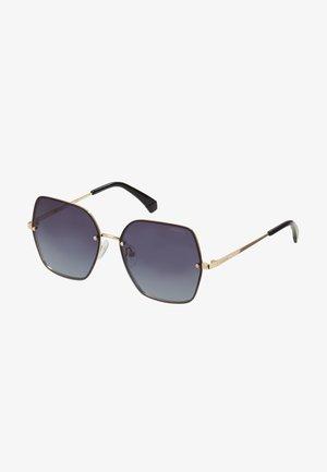 Sunglasses - gold-coloured/grey