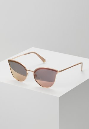 Sunglasses - gold/pink