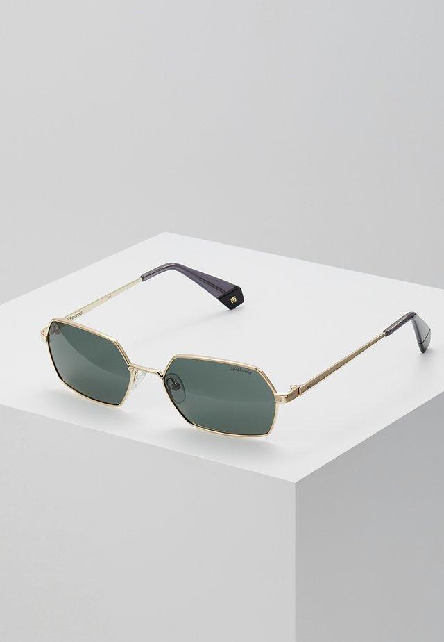 Gafas de sol - gold-coloured/green