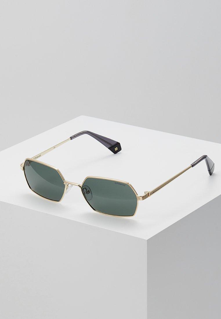 Polaroid - Solglasögon - gold-coloured/green