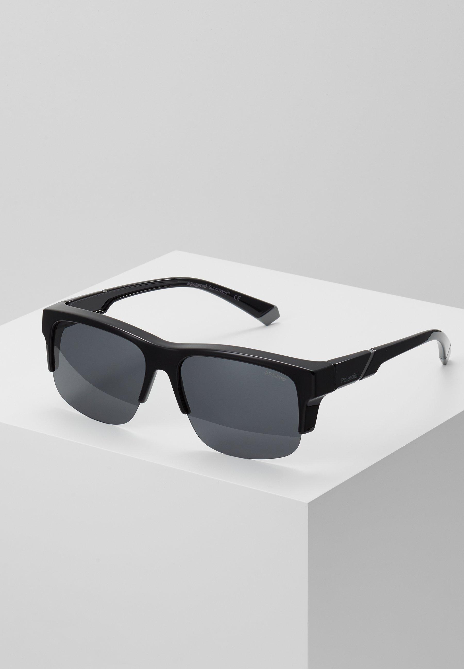 Polaroid Okulary przeciwsłoneczne black Zalando.pl