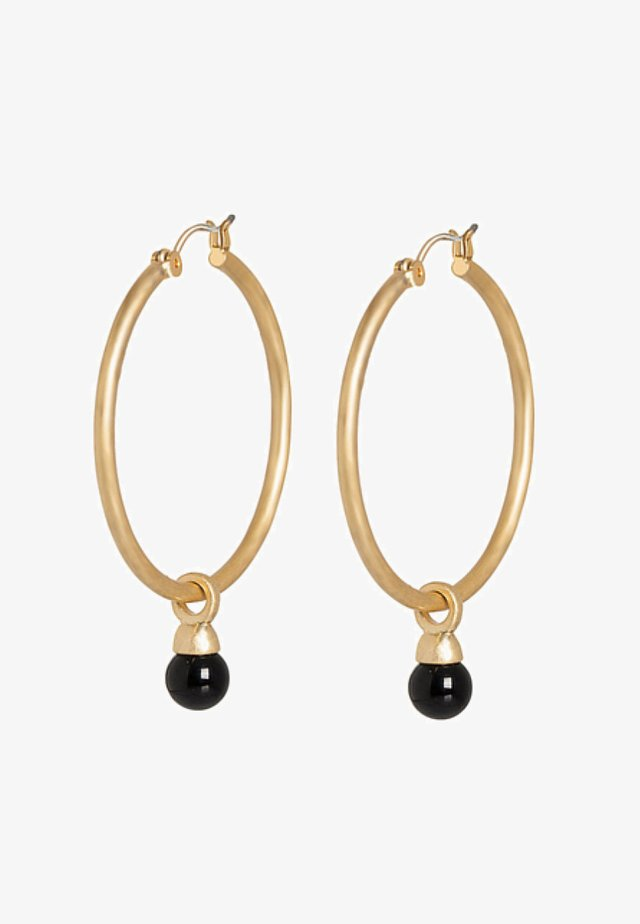 CREOLE - Earrings - black