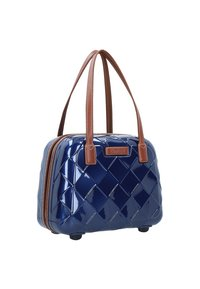 Stratic - LEATHER & MORE - Kosmetiktasche - blue