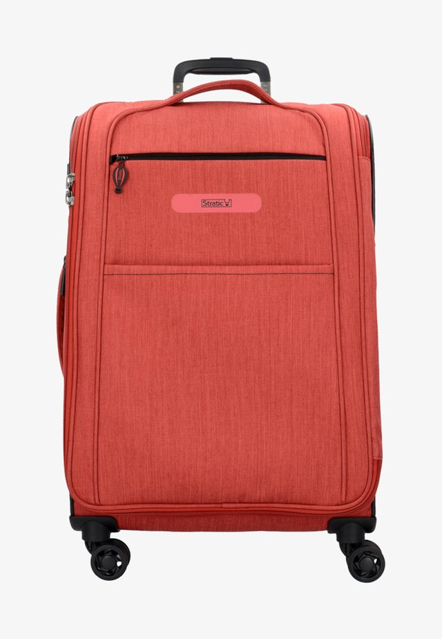 FLOATING - Valise à roulettes - red