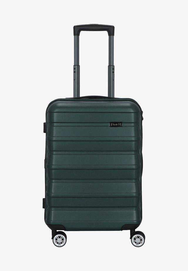 PILE  - Wheeled suitcase - emerald