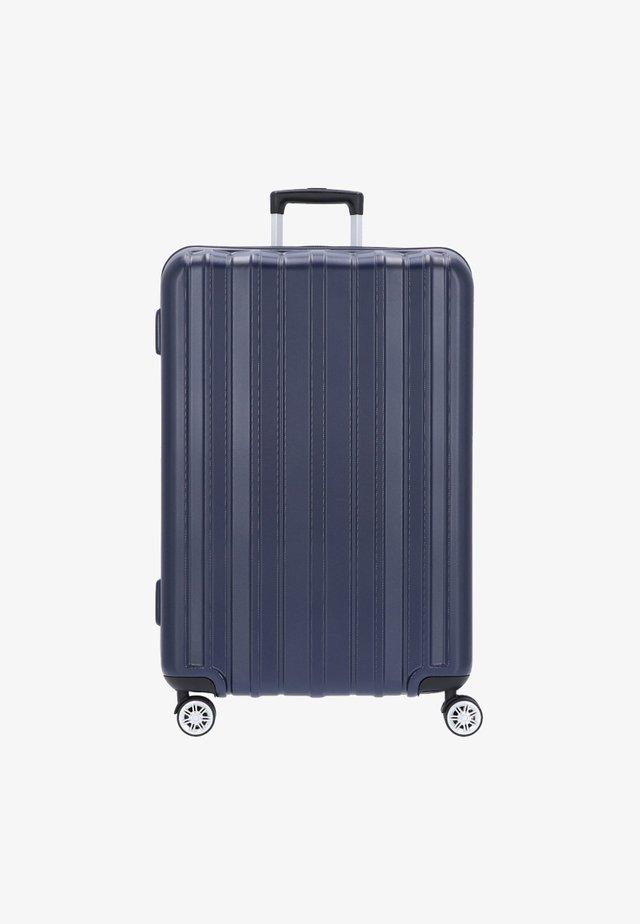 PILLAR - Wheeled suitcase - blue
