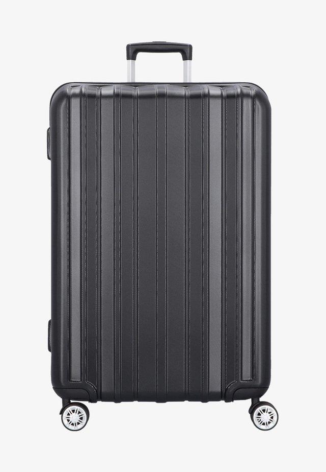 PILLAR - Wheeled suitcase - black