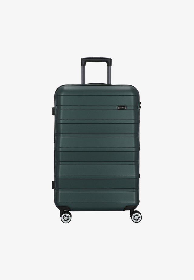 PILE  - Wheeled suitcase - green