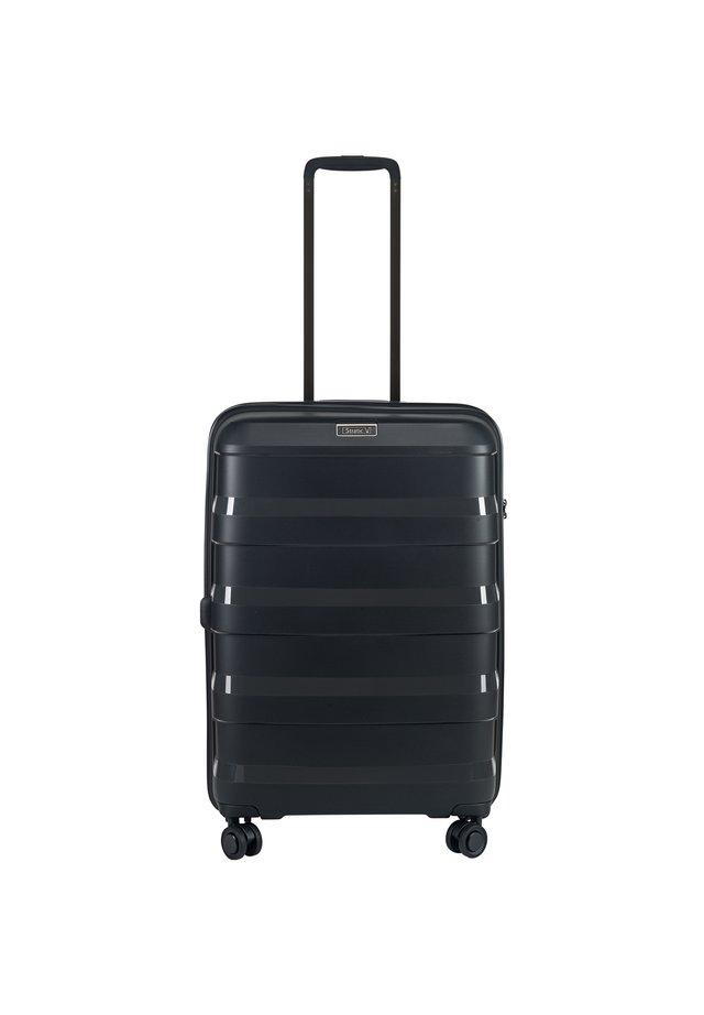 STRAW 66 CM - Wheeled suitcase - black