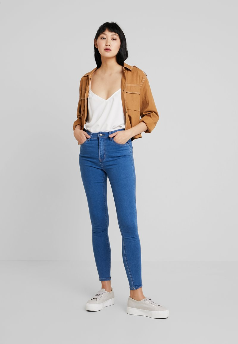 Even&Odd - Jeans Skinny - mid blue denim